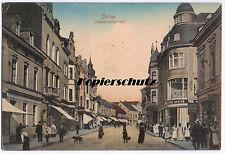 alte Ak 1913 Ohligs Solingen, Düsseldorfer Straße, Geschäfte