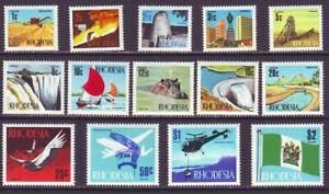 Rhodesia 1970 SC 275-293 MNH Set