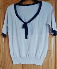 George Cotton Blend Short Sleeve Jumpers & Cardigans for Women