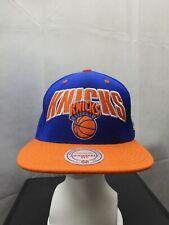 New York Knicks Mitchell&Ness Snapback Hat NBA