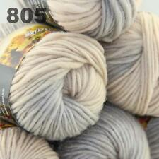 6 Skeins X50g Knitting Yarn Chunky Colorful Hand Wool Wrap Scarves 05
