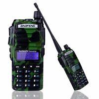 BaoFeng UV-82 Tri-Power 8W 4W 1W Dual-Band UHF VHF Ham Two Way Radio Camouflage