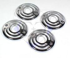 Abdeckung Blinker / Grills - verchromt - 4 Stück - Metall - Highway Hawk