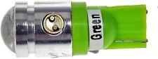 FITS 1967-2014 194 GREEN 2WATT LED FRONT/REAR SIDE MARKER LIGHT BULB 194G-HP
