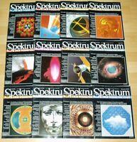 Spektrum der Wissenschaft 1992 komplett Jahrgang Sammlung Zeitschrift Science