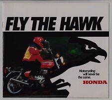 1978 HONDA CB400TI CB400TII CB400A HAWK Original BROCHURE CB400T 1 2 HONDAMATIC