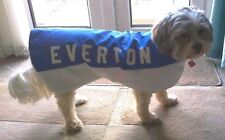 "Everton Personalised Dog Coat size X Small 10"" ALL SIZES/ TEAMS AVAILABLE"