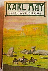 Karl May Der Schatz im Silbersee Verag Neues Leben Berlin 1989