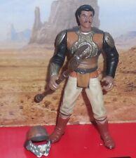 Star Wars Power of the Force LANDO CALRISSIAN Skiff Action Figure Kenner Potf