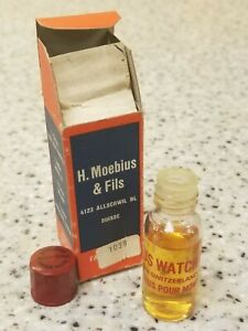 Moebius 8000 Watch Oil 8 ML Bottle Swiss Made Classic Oil Brand New!!!