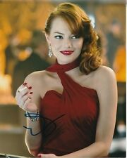 EMMA STONE Signed GANGSTER SQUAD Photo w/ Hologram COA