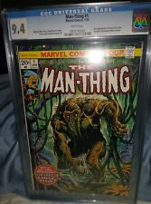 Man-Thing 1 CGC 9.4 NM, 2nd Howard the Duck (Marvel 1974)