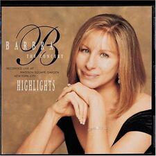Barbra Streisand - Concert Highlights [New CD]