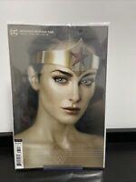 WONDER WOMAN #765 B VARIANT CARD STOCK JOSHUA MIDDLETON COVER JLA DC MOVIE