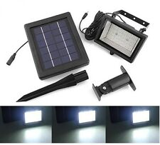solar power Ultra Bright 30 LED Outdoor Garden Spot Flood Light Solar Panel