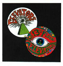 2 13th FLOOR ELEVATORS  BADGES.  Psychedelia.