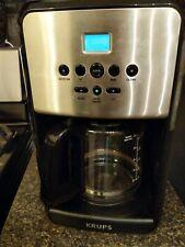 Krups Savoy EC3120 12 Cup Programable Coffee Maker