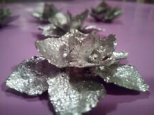 50pcs silver Pine cone florist decoration flower wedding table  wreath garland