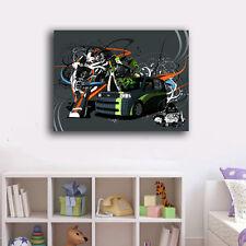 70×90×3cm Graffiti Art Canvas Prints Framed Wall Art Home Decor Painting Gift X