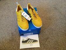 Adidas Originals Gazelle Ostrich pack Ltd Edition Mens size 12 yellow/white rare