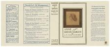 Facsimile Dust Jacket ONLY Anne of Green Gables L. M. Montgomery 1st Edition