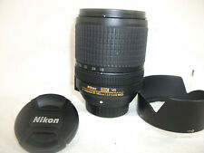 Nikon Nikkor AF-S 18-140mm f3.5-5.6 G ED DX SWM VR ED IF LENS, CAPS SHADE MINT