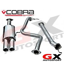 "FD51 Cobra Sport Ford Fiesta MK7 ST180 13> Cat Back Exhaust 2.5"" Non Resonated"