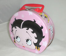 Betty Boop Purse Tote Lunchbox Metal Raised Embossing New