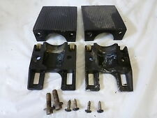 1988 MERCURY 80HP LOWER MOUNT CLAMPS COVERS 93192 67077 OUTBOARD MOTOR 3-CYL