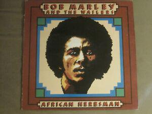 BOB MARLEY AND THE WAILERS AFRICAN HERBSMAN LP '73 TROJAN TRLS 62 RARE REGGAE VG