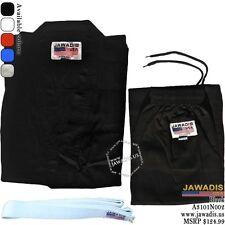 Jawadis Karate Tae Kwon Do Martial Arts Gi Jacket and Pants with FREE White Belt