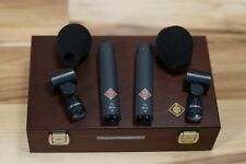 Neumann KM184 Stereo Set in Matte Black Small Diaphragm Condenser Microphones