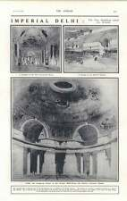 1919 Imperial Delhi New Buildings Durbar Hall Aviation Weather Reports
