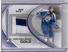 BRODY SILK 11/12 ITG Prospects Update Set GOLD /10 Jersey Rookie #M-53 SP