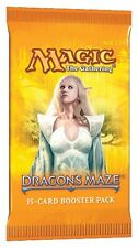 MTG Magic: SEALED DRAGON'S MAZE BOOSTER PACK! Cheap ship! FRESH from Sealed Box!