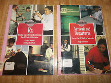 Lot of 2 -The Lifeskills Library: Rx : Reading and Following the Directions...