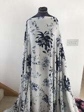 Dressmaking Fabric Illustrated Floral/Flower Comfort Stretch Crepe 1.8mts