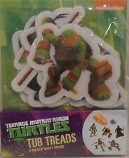 Bath Tub Treads TEENAGE MUTANT NINJA TURTLES Non-Slip Safety Appliques 5 Piece