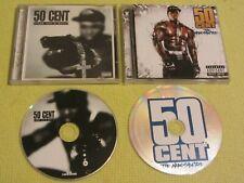 50 Cent Guess Who's Back & The Massacre 2 CD Albums Hip Hop Gangsta