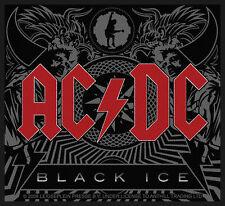 AC/DC - Patch Aufnäher - Black ice NEU! ACDC 10x9cm