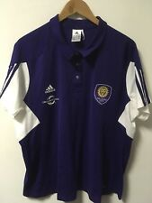 Women's Adidas ORLANDO CITY SOCCER MLS Polo Shirt Size 3XL