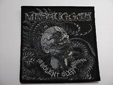 MECHUGGAH  The Violent Sleep of Reason WOVEN  PATCH