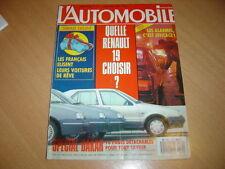 L'automobile N°511 Peugeot 309 SR.Cadillac Seville STS.R21 TXE Auto / 405 SRi