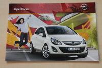 75793) Opel Corsa D Prospekt 12/2010