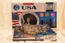 The Country of USA History Over Time 4D Cityscape Time Puzzle #40008 New Sealed