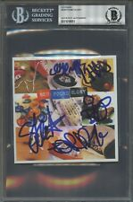 8051 New Found Glory Signed CD Cover AUTO Autograph Beckett BGS