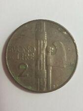 Moneta del Regno Buono Da 2 Lire 1924 Vittorio Emanuele III