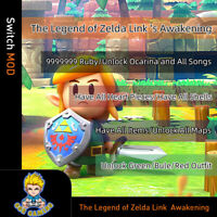 The Legend of Zelda Link  Awakening(Switch Mod)- Gmaeis not included