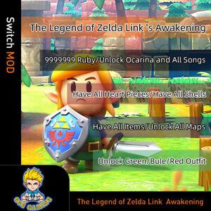 The Legend of Zelda Link  Awakening(Switch Mod)- Gmaeis not included