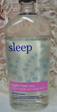 Sleep Night Time Tea Aromatherapy Bath & Body Works 10 ounce bottle New Discont